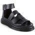 Dr. Martens Women's Shore Clarissa Chunky Strap Leather Sandals - Black Brando: Image 5