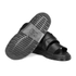 Dr. Martens Men's Shore Brelade Buckle Leather Slide Sandals - Black Brando: Image 6