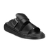 Dr. Martens Men's Shore Brelade Buckle Leather Slide Sandals - Black Brando: Image 5