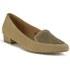 Ravel Women's Anaconda Suede Pointed Flat Shoes - Tan: Image 5