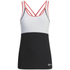 Skins A200 Women's Active Compression Tank Top - Black/Orange: Image 1