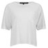 rag & bone Women's Deal Crop T-Shirt - Off White: Image 1