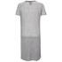Six Ames Women's Ramona Drawstring Dress - Grey Marl: Image 2