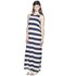 Cheap Monday Women's Ring Stripe Dress - Indigo/Nude: Image 2