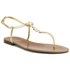 Lauren Ralph Lauren Women's Aimon Leather Sandals - Rl Gold: Image 5