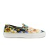 Polo Ralph Lauren Men's Mytton NE Floral Slip On Trainers - Black Multi: Image 1