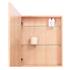 Wireworks Natural Oak Slimline Cabinet 550: Image 2