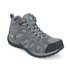 Columbia Women's Redmond Mid Waterproof Hiking Boots - Light Grey/Sky Blue: Image 2