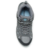 Columbia Women's Redmond Mid Waterproof Hiking Boots - Light Grey/Sky Blue: Image 3