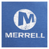 Merrell Men's Vintage Stacked Logo T-Shirt - Tahoe Heather Blue: Image 3