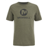 Merrell Men's Vintage Stacked Logo T-Shirt - Grape Leaf Heather Green: Image 1