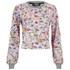 Markus Lupfer Women's Sticker Print Donna Sweatshirt - Pink: Image 1
