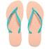 Havaianas Women's Slim Logo Flip Flops - Light Pink: Image 1