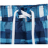 Zoggs Men's Water Check Scarborough 19 Inch Swim Shorts Blue Check: Image 4