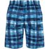 Zoggs Men's Water Check Scarborough 19 Inch Swim Shorts Blue Check: Image 2