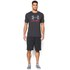 Under Armour Men's Sportstyle Logo T-Shirt - Black/Red/Steel: Image 3