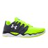 Under Armour Men's Micro G Optimum Running Shoes - Lead/High-Vis Yellow/Metallic Silver: Image 3