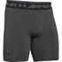 Under Armour Men's Armour HeatGear Compression Training Shorts - Carbon Heather/Black: Image 1