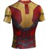 Under Armour Men's Iron Man 2 Compression Short Sleeved T-Shirt - Gold/Red/Silver: Image 2