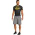 Under Armour Men's Batman Compression Short Sleeved T-Shirt - Negro/Amarillo: Image 6