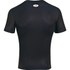 Under Armour Men's Batman Compression Short Sleeved T-Shirt - Black/Yellow: Image 2