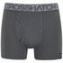 Crosshatch Men's Squint 2-Pack Boxer Shorts - Vaporous Grey/Magnet: Image 4