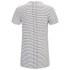 Religion Men's Marley Stripe Short Sleeve Crew Neck T-Shirt - White/Black: Image 2