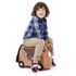 Trunki Bronco Ride-On Suitcase - Brown: Image 2