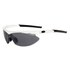 Tifosi Slip Interchangable Sunglasses - Pearl White: Image 1