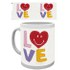 Smiley Craft Love Mug: Image 1