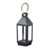 Parlane Camden Lantern - Black (440x160mm): Image 1