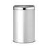 Brabantia 40 Litre Touch Bin - Metallic Grey: Image 1