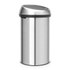 Brabantia 60 Litre Fingerprint Proof Touch Bin - Matt Steel: Image 3