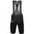 Santini Racer One-Panel Bib Shorts - Black: Image 2
