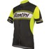 Santini Tau Short Sleeve Jersey - Yellow: Image 1