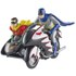 Hot Wheels Elite DC Comics Batman 1966 Batcycle 1:12 Scale Figure Set: Image 1