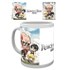 Attack on Titan Chibi Mug: Image 1