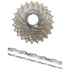 Shimano Ultegra CS-6700 Bicycle Chain and Cassette - 10 Speed Grey 11-28T: Image 1