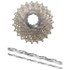 Shimano Ultegra CS-6700 Bicycle Chain and Cassette - 10 Speed Grey 12-25T: Image 1