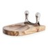 Natural Life NL82014 Mezzaluna with Acacia Cutting Board: Image 2