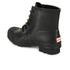 Hunter Men's Original Lace Up Rubber Rigger Boots - Black: Image 5