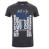 T-Shirt Homme Star Wars R2D2 Text Body - Gris Foncé: Image 1