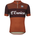 Santini L'Eroica Gaiole 2015 Event Series Techno Wool Short Sleeve Jersey - Dark Red: Image 1