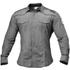 Better Bodies Men's Flex Shirt - Grey/White Stripe: Image 1