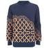 Vivienne Westwood MAN Men's Needlepunch Sweatshirt - Navy Mix: Image 1