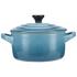 Le Creuset Stoneware Petite Casserole Dish - Teal: Image 4