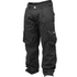GASP Street Pants - Wash Black: Image 1