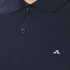 J.Lindeberg Men's Rubi Short Sleeve Polo Shirt - Navy: Image 5