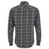 Carhartt Men's LS Sampras Shirt Rib-Knit Cuff - Dark Grey Heather: Image 2