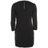 nümph Womens Black Tunic Dress - Caviar: Image 2